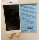 "Новый Смартфон 4,7"" Apple iPhone 6 64GB Gold"