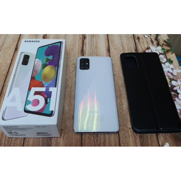 "Смартфон 6,5"" Samsung Galaxy A51 4/64GB (SM-A515F) White"