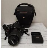 Зеркальный фотоаппарат Nikon D3200 Kit 18-55mm черный