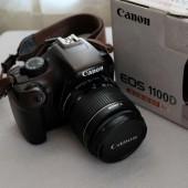 Зеркальный фотоаппарат Canon EOS 1100D Kit (флешка 16Гб)