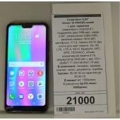 "Смартфон 5,84"" Honor 10 4/64GB Синий + доп. гарантия."