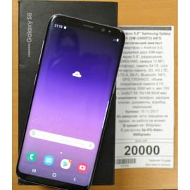 "Смартфон 5,8"" Samsung Galaxy S8 (SM-G950FD) 64Гб Мистический аметист"